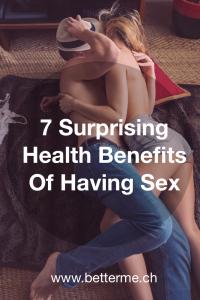 7 surprising health benefits of having sex